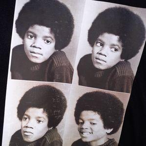 Little Michael Jackson t-shirt women